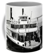 S. P. Ferry Alameda At San Francisco Circa 1940 Coffee Mug