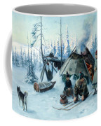 Saami Family At The Hut Coffee Mug
