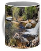 Sabino Creek Falls Coffee Mug