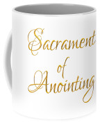Sacrament Of Anointing Of The Sick Golden 3-d Look Coffee Mug