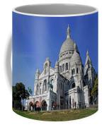 Sacre Coeur In The Montmartre Area Of Paris, France  Coffee Mug