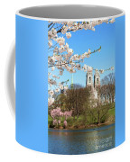 Sacred Heart And Branch Brook Cherry Blossoms  Coffee Mug