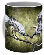 Sacred Ibis Photobombing Coffee Mug