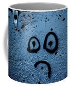 Sad Graffiti Coffee Mug
