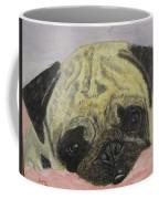 Snugly  Pug Coffee Mug
