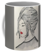 Sad Woman  Coffee Mug