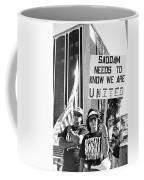 Saddam Needs To Know Pro Desert Storm Rally Tucson Arizona 1991 Coffee Mug