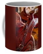 Saddle In Tack Room Coffee Mug