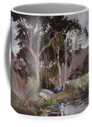Safe Shelter  - Plein Air - Catalina Island Coffee Mug