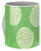 Sage Garden Bloom Coffee Mug by Linda Woods
