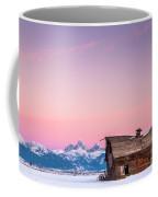Saggy, Teton Valley, Barn Coffee Mug