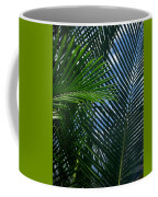 Sago Palm Fronds Coffee Mug