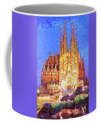 Sagrada Familia At Night Coffee Mug