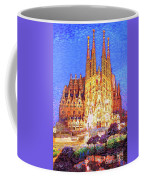 Sagrada Familia At Night Coffee Mug
