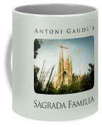 Sagrada Familia With Catalonia's Flag Coffee Mug