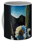 Saguaro In Bloom Coffee Mug