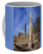 Saguaro Skeleton Coffee Mug