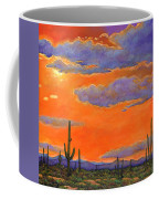 Saguaro Sunset Coffee Mug by Johnathan Harris