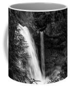 Sahalie Falls No. 4 Bw Coffee Mug