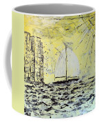 Sail And Sunrays Coffee Mug by J R Seymour