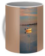 Sail Boat In Roanoke Sound 1x2 Ratio Photo Painting Img_3969 Coffee Mug