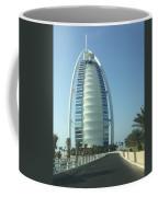 Sail-shaped Silhouette Of Burj Al Arab Jumeirah  Coffee Mug