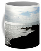 Sailboat At Point Coffee Mug
