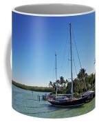 Sailboat At Royal Harbor Coffee Mug