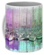 Sailboat Lineup - Watercolor Coffee Mug