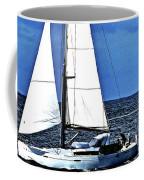 Sailboat No. 143-1 Coffee Mug