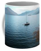 Sailboat On Lake Maggiore Coffee Mug