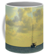Sailboat On The Horizon Coffee Mug