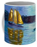 Sailboat-  Sailing- Come Sail Away Coffee Mug