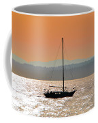 Sailboat With Bike Coffee Mug