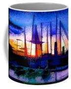 Sailboats At Rest Coffee Mug