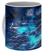 Sailboats In A Storm Coffee Mug