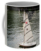 Sailboats In Central Park Coffee Mug