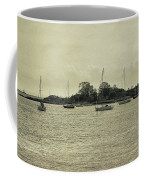 Sailboats In Gloucester Harbor Coffee Mug