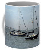 Sailboats In The Inlet Coffee Mug