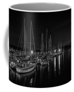 Sailboats Moored For The Evenin Coffee Mug