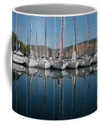 Sailboats Reflected Coffee Mug