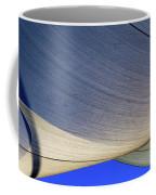 Sailcloth Abstract Times Two Coffee Mug