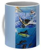 Sailfish In Costa Rica Coffee Mug