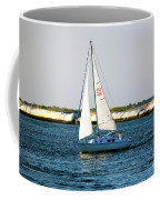 Sailing At Long Beach Island Coffee Mug