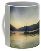 Sailing Boat In The Sunset Coffee Mug by Joana Kruse