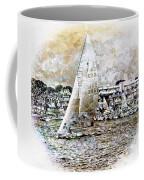Sailing Boat, Nautical,yachts, Seascape Coffee Mug