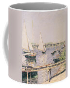 Sailing Boats At Argenteuil Coffee Mug