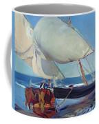 Sailing Boats Coffee Mug by Joaquin Sorolla y Bastida