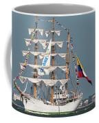 Sailing By The Battery Coffee Mug