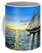 Sailing Day Sunset Coffee Mug